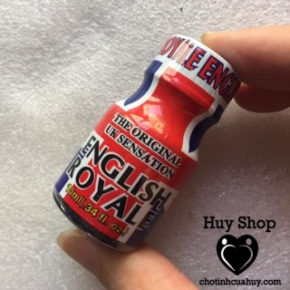 POPPER HOÀNG GIÁ ENGLISH ROYAL 10ML